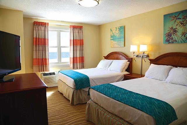 All rooms come with comfort, some rooms offer breathtaking views of the famous Ocean City Boardwalk, award-winning Ocean City beaches, and beautiful Atlantic Ocean
